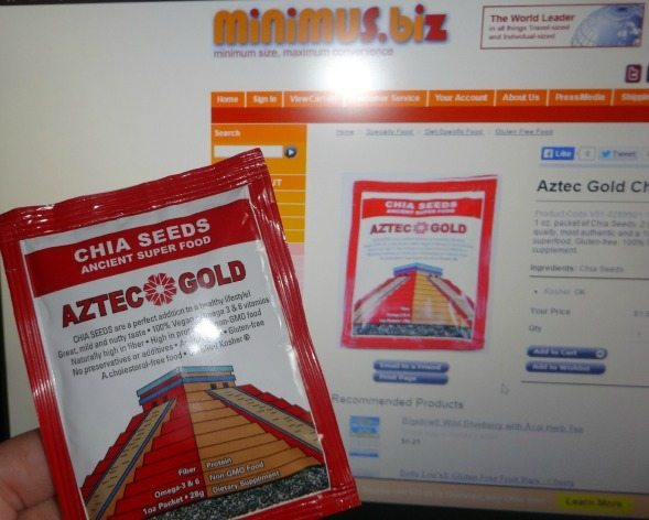 Chia Seeds Ancient Super Food EclecticEvelyn.com