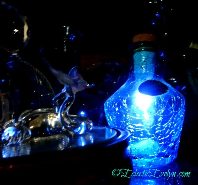 Blue Glow  #WordlessWednesday EclecticEvelyn.com