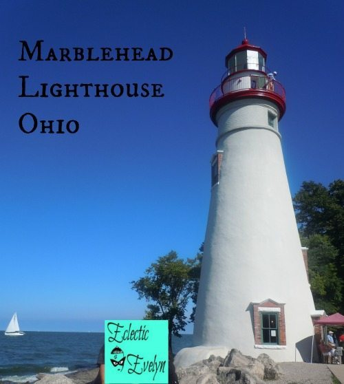 Marblehead Lighthouse Ohio EclecticEvelyn.com