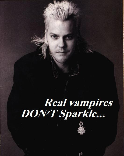 Real Vampires Don;t Sparkle EclecticEvelyn.com