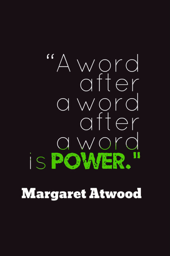 Margaret Atwood Women Writers Writing EclecticEvelyn.com