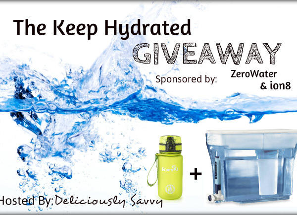 Keep Hydrated Giveaway EclecticEvelyn.com