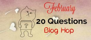 20 Questions Answered February Blog Hop EclecticEvelyn.com
