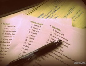 organized house cleaning list to do