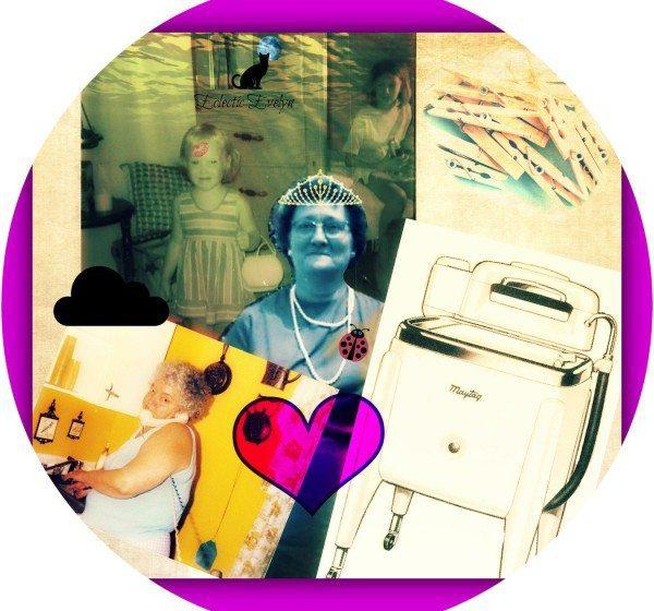 collage Evelyn Dortch Flotie Drake Douglas Doris Hardesty Louise Keeney wringer washer