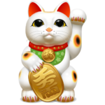 Lucky Happy Cat 88888888