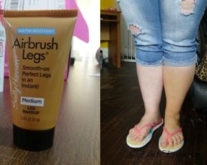 Airbrush Legs  #BellaVoxBox EclecticEvelyn.com
