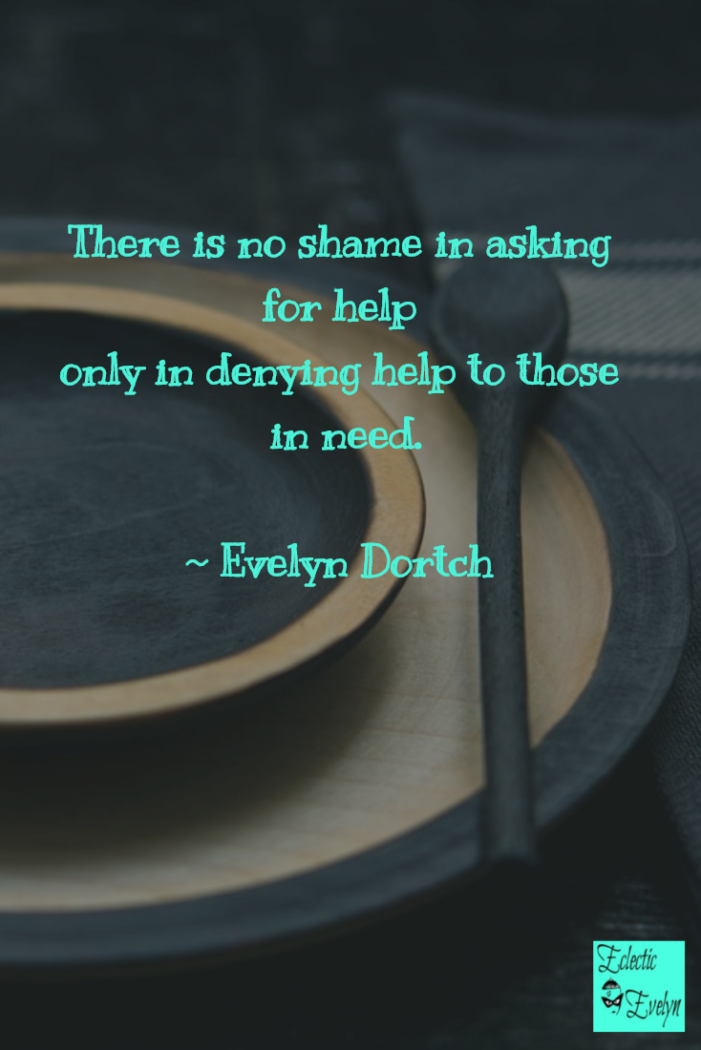 No Shame Quote by Evelyn Dortch EclecticEvelyn.com