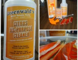 Review of Greenwalds All Purpose Citrus Cleaner EclecticEvelyn.com