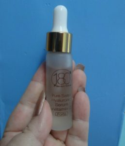 180 Cosmetics Forte Serum Review at EclecticEvelyn.com