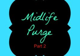 Midlife Purge Part 2 EclecticEvelyn.com