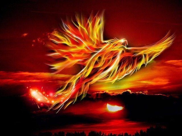Phoenix Rising EclecticEvelyn.com