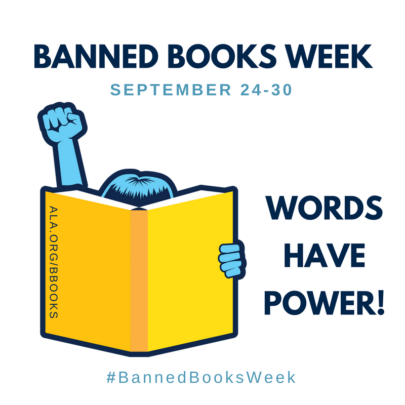 #BannedBooksWeek Celebrating the Freedom to Read by Eclectic Evelyn