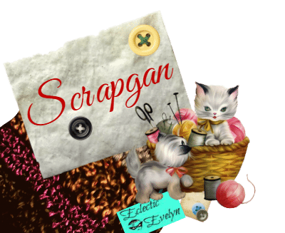 Keeping Your neighbors Warm with #Scrapgan EclecticEvelyn.com