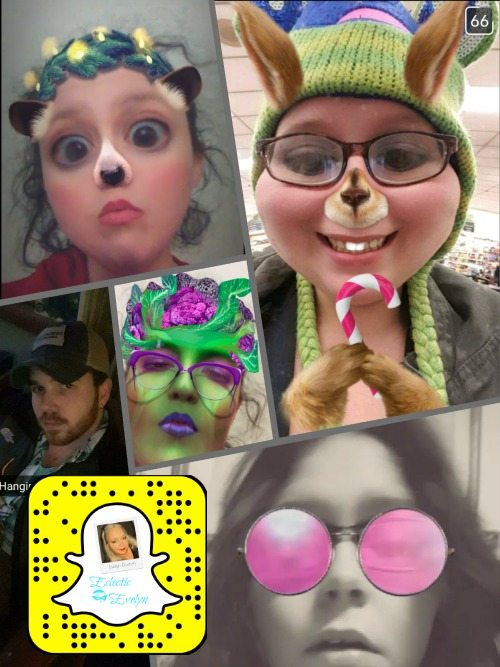Welcome to Snapchat EclecticEvelyn.com
