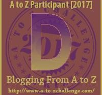 D #AtoZChallenge EclecticEvelyn.com