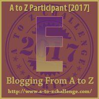 E #AtoZChallenge EclecticEvelyn.com