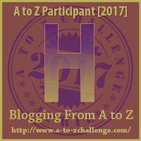 H #AtoZChallenge EclecticEvelyn.com