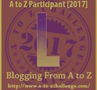 L #AtoZChallenge EclecticEvelyn.com