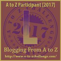 L #AtoZChallenge EclecticEvelyn.com