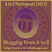 O #AtoZChallenge EclecticEvelyn.com