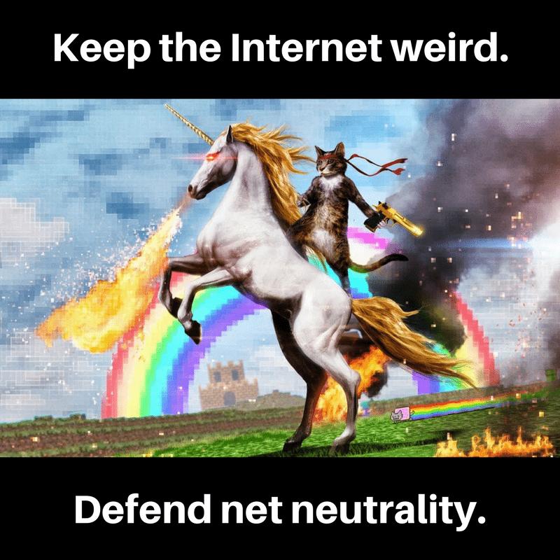 Defend Net Neutrality