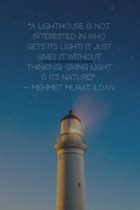 Lighthouse Quotes | 10 Pinnable Lighthouse Quotes