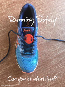 Running safely: can you be identified?