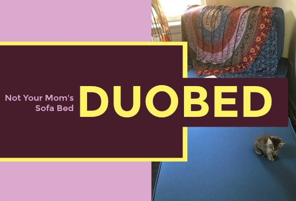 DuoBed: Not Your Mom's Sofa Bed