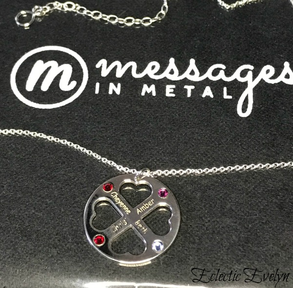 Say I Love You with Messages in Metal