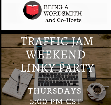 #TrafficJamWeekend Linky Party 213 and a Giveaway