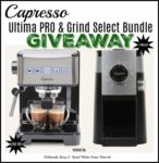 Capresso Ultimate PRO & Grind Select Bundle Giveaway ends 12/24 @SMGurusNetwork  @CapressoTweets