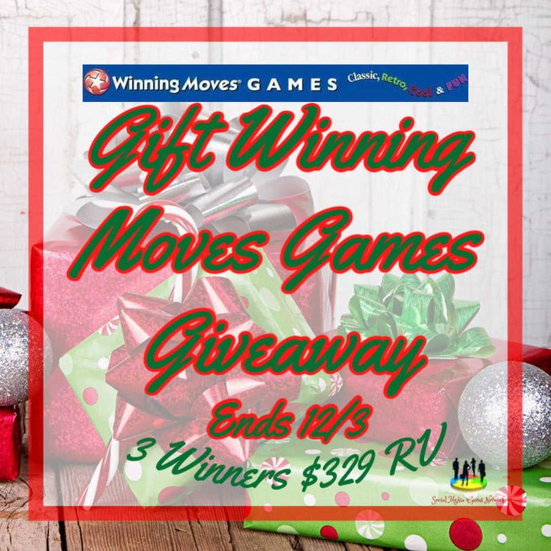 Gift Winning Moves Games Giveaway Ends 12/3 #holiday19