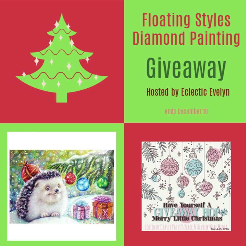 Floating Styles Diamond Painting $50 GC Giveaway with hop ends 12/18 #Holiday19