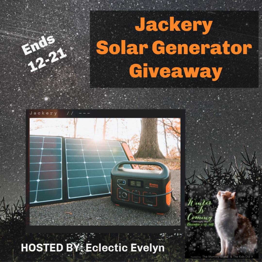 Winter is Coming Hop – Jackery Solar Generator @jackeryinc Giveaway (ARV $430) ends 12/21 #Holiday19