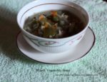 Mixed Vegetable Soup  – A Guest Post by @evergreendishes