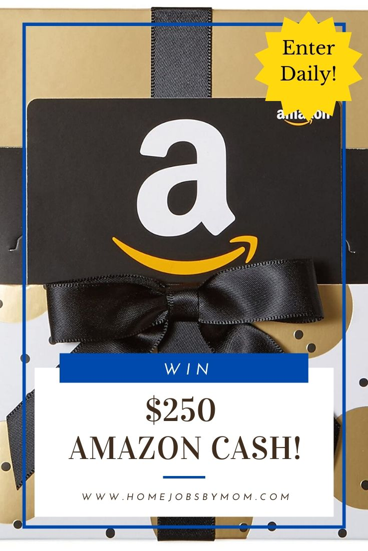 $250 Amazon Cash Giveaway (Ends 12/1) #Win