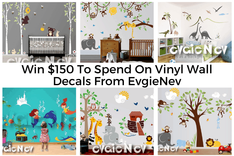 Win $150 To Spend On Wall Decals From EvgieNev! ends 7/6